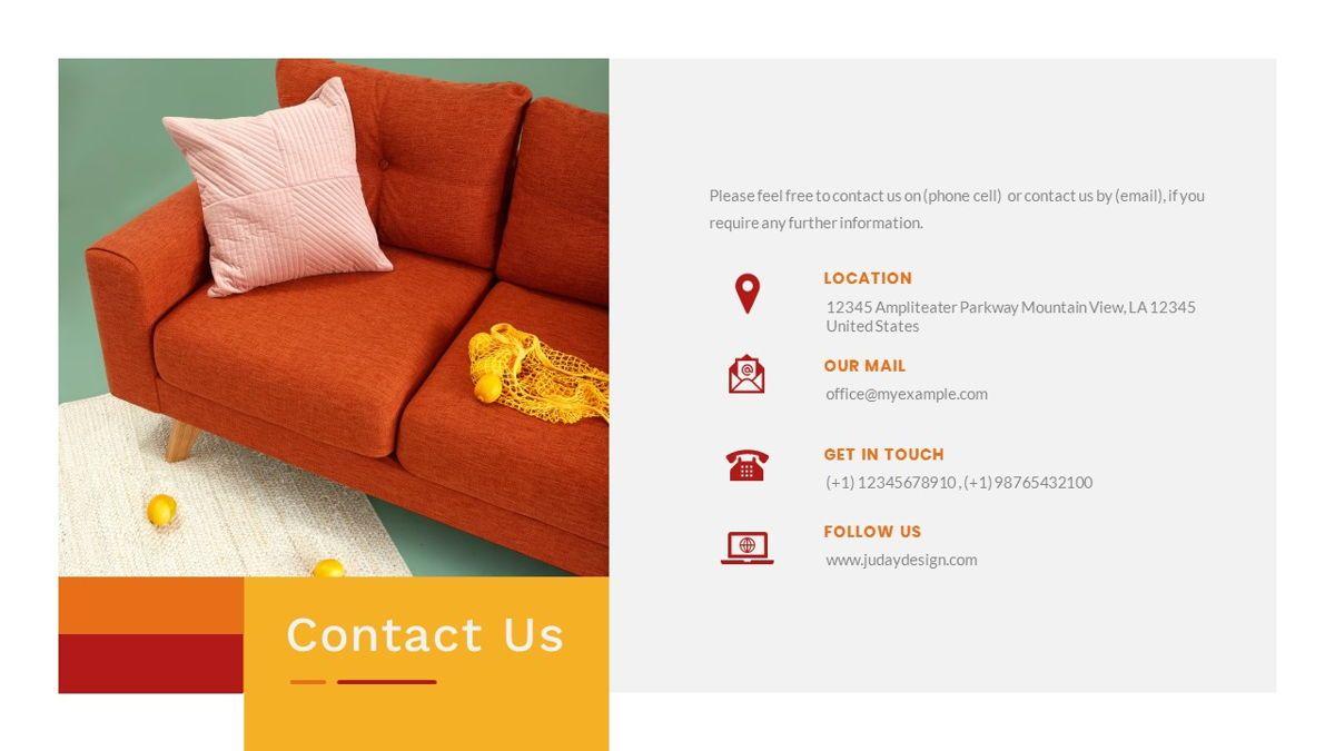 Tiwwie – Creative Business Pop Art PowerPoint Template, Slide 40, 06853, Presentation Templates — PoweredTemplate.com