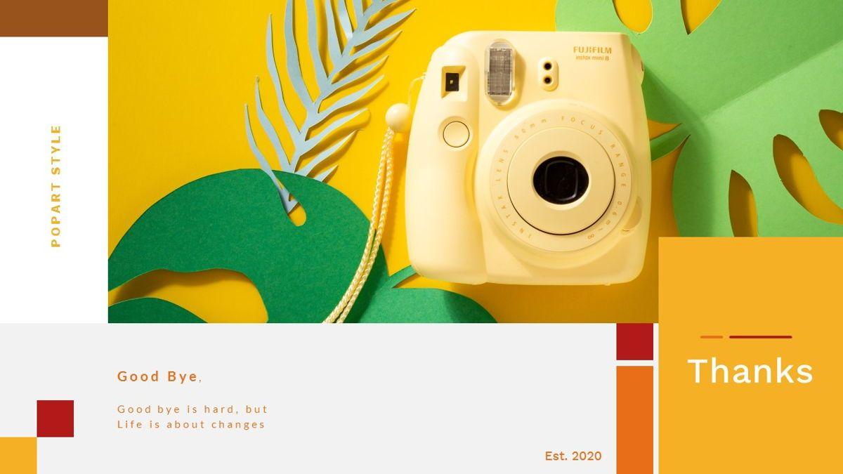Tiwwie – Creative Business Pop Art PowerPoint Template, Slide 41, 06853, Presentation Templates — PoweredTemplate.com