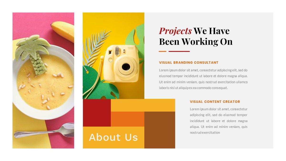 Tiwwie – Creative Business Pop Art PowerPoint Template, Slide 7, 06853, Presentation Templates — PoweredTemplate.com