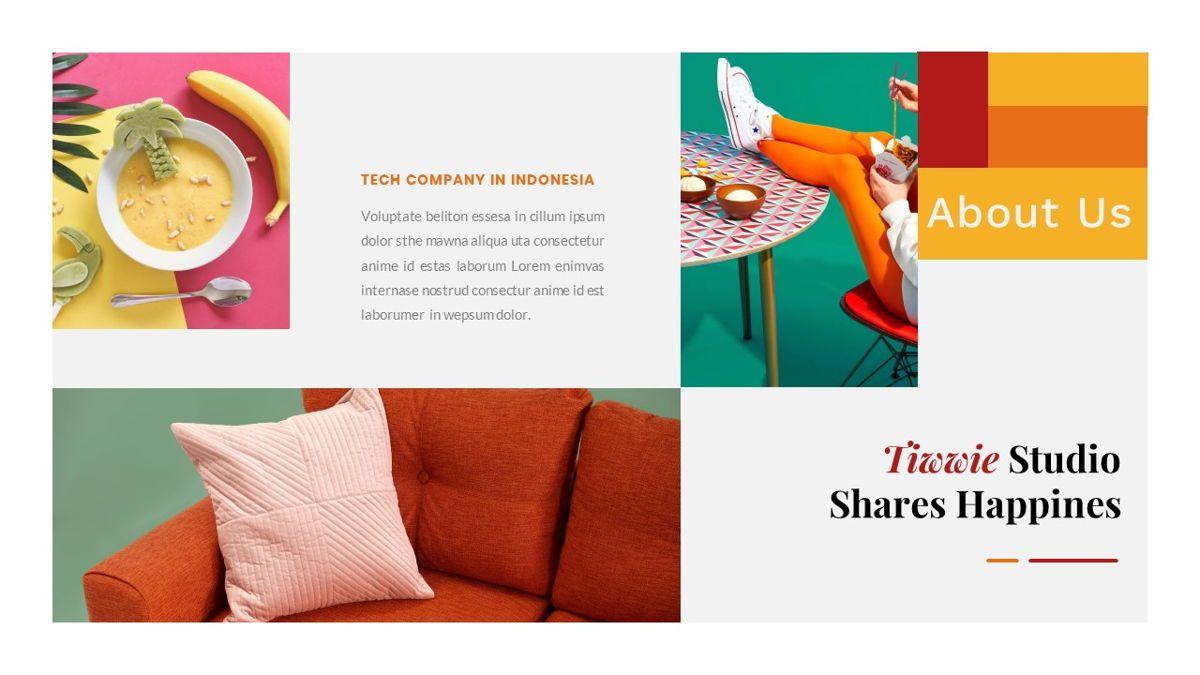Tiwwie – Creative Business Pop Art PowerPoint Template, Slide 9, 06853, Presentation Templates — PoweredTemplate.com
