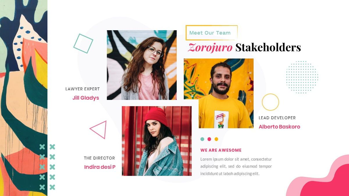 Zorojuro – Creative Business Pop Art PowerPoint Template, Slide 12, 06855, Presentation Templates — PoweredTemplate.com