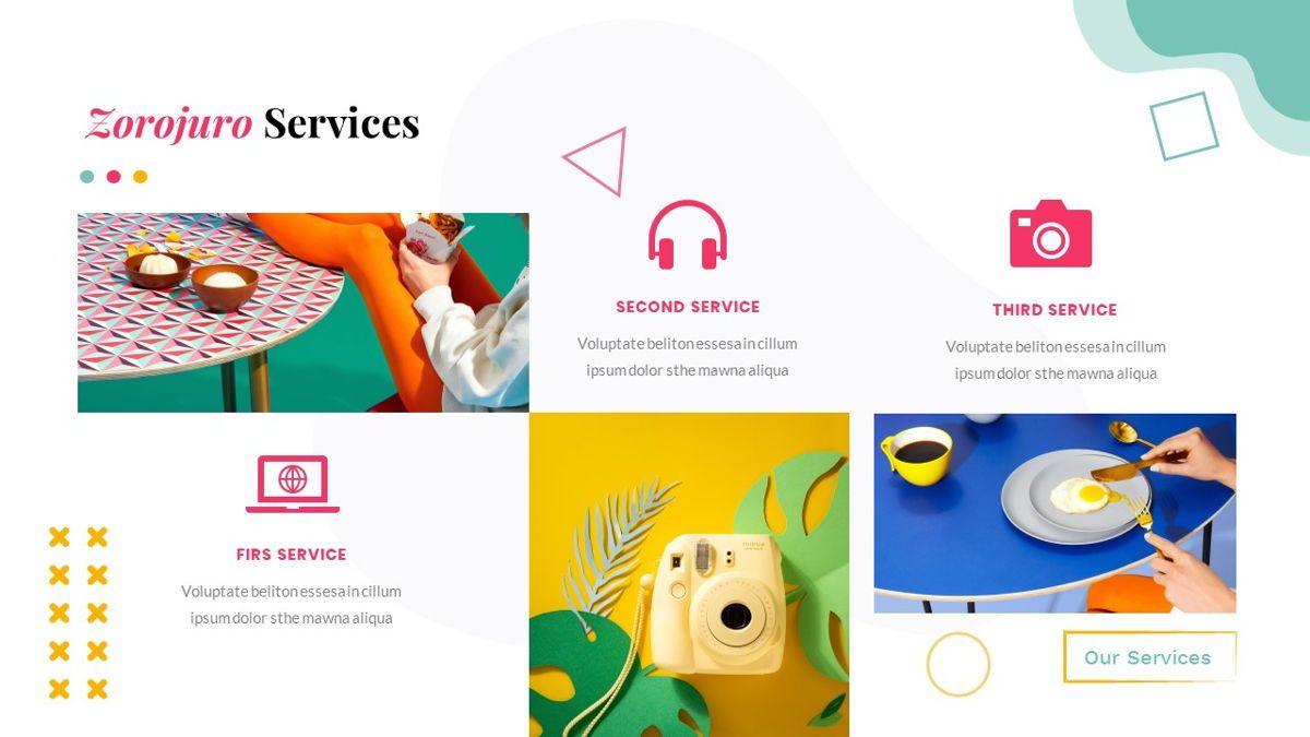 Zorojuro – Creative Business Pop Art PowerPoint Template, Slide 17, 06855, Presentation Templates — PoweredTemplate.com
