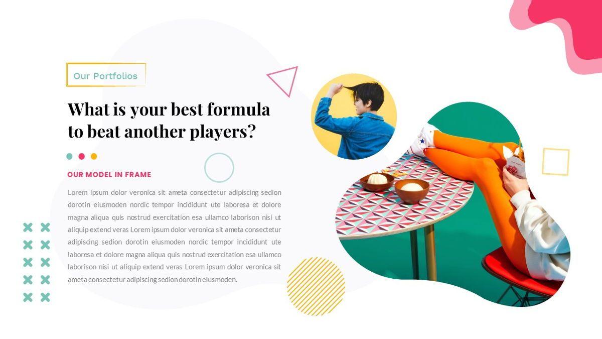 Zorojuro – Creative Business Pop Art PowerPoint Template, Slide 26, 06855, Presentation Templates — PoweredTemplate.com
