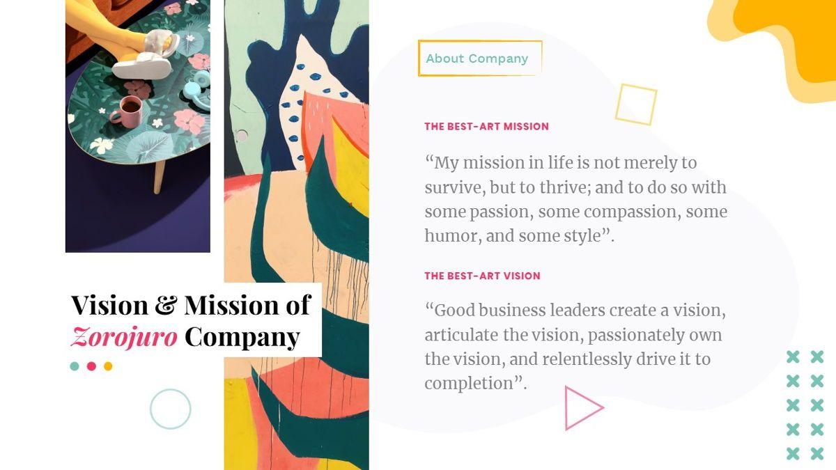 Zorojuro – Creative Business Pop Art PowerPoint Template, Slide 4, 06855, Presentation Templates — PoweredTemplate.com