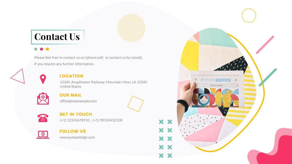 Zorojuro – Creative Business Pop Art PowerPoint Template, Slide 40, 06855, Presentation Templates — PoweredTemplate.com