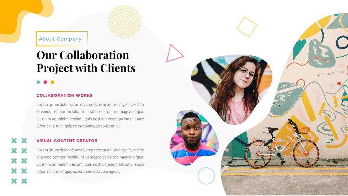 Zorojuro – Creative Business Pop Art PowerPoint Template, Slide 6, 06855, Presentation Templates — PoweredTemplate.com