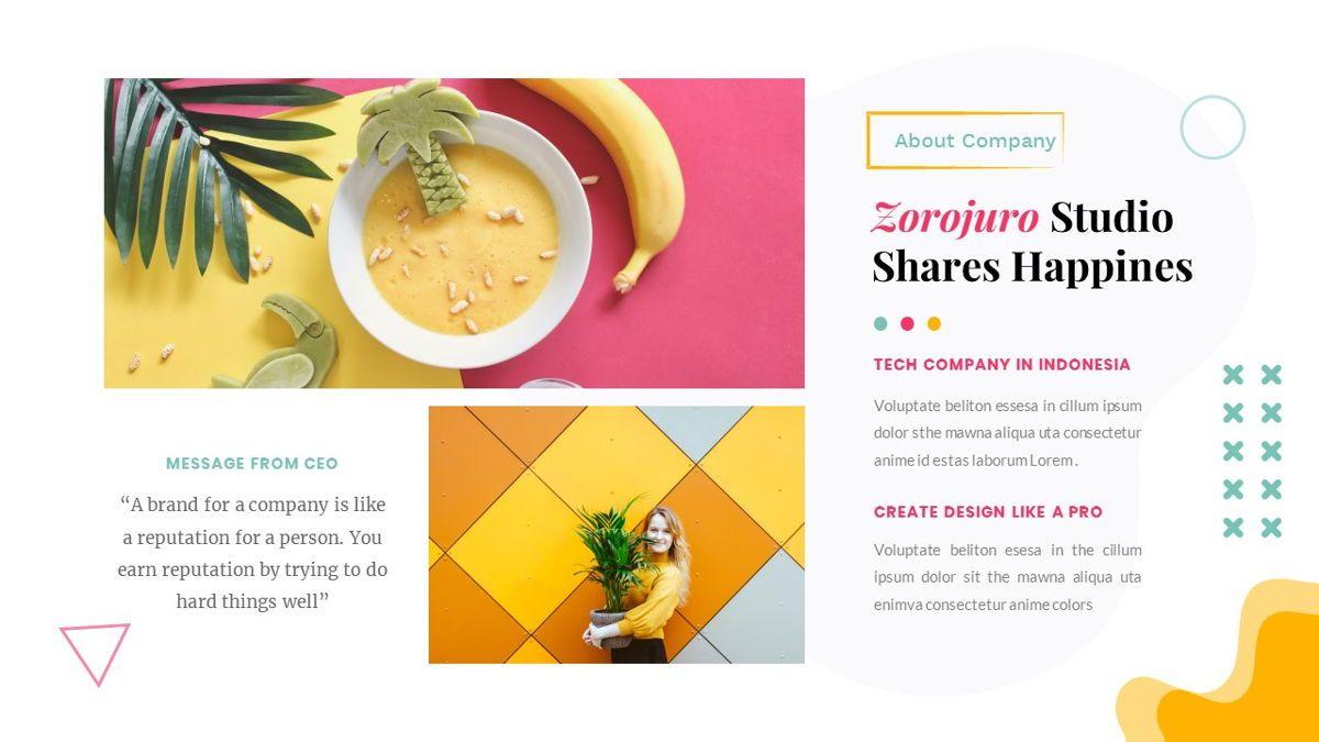 Zorojuro – Creative Business Pop Art PowerPoint Template, Slide 8, 06855, Presentation Templates — PoweredTemplate.com