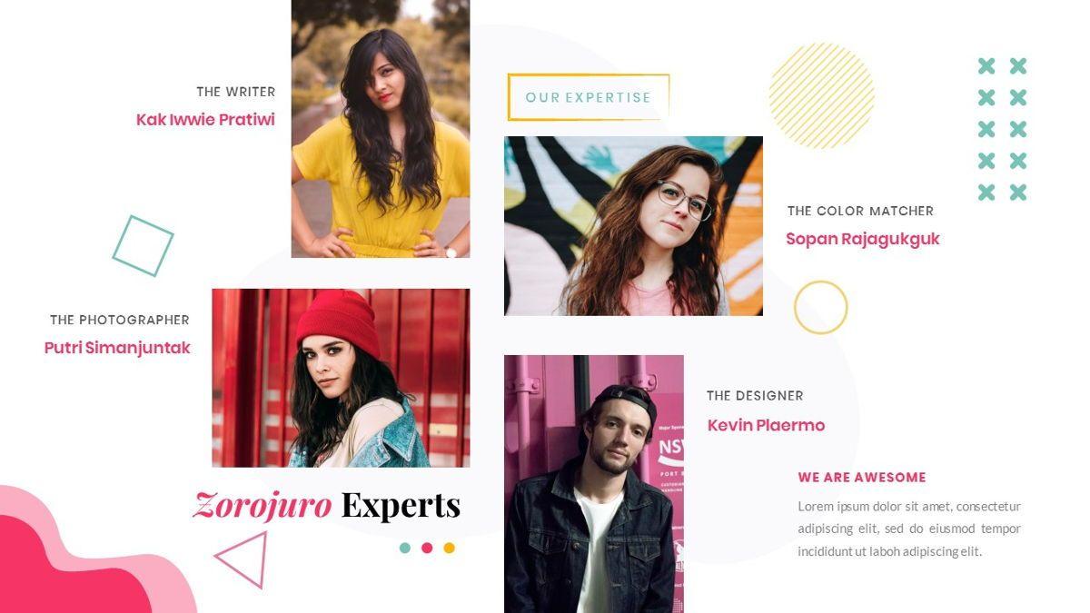 Zorojuro – Creative Business Pop Art Keynote Template, Slide 11, 06856, Presentation Templates — PoweredTemplate.com