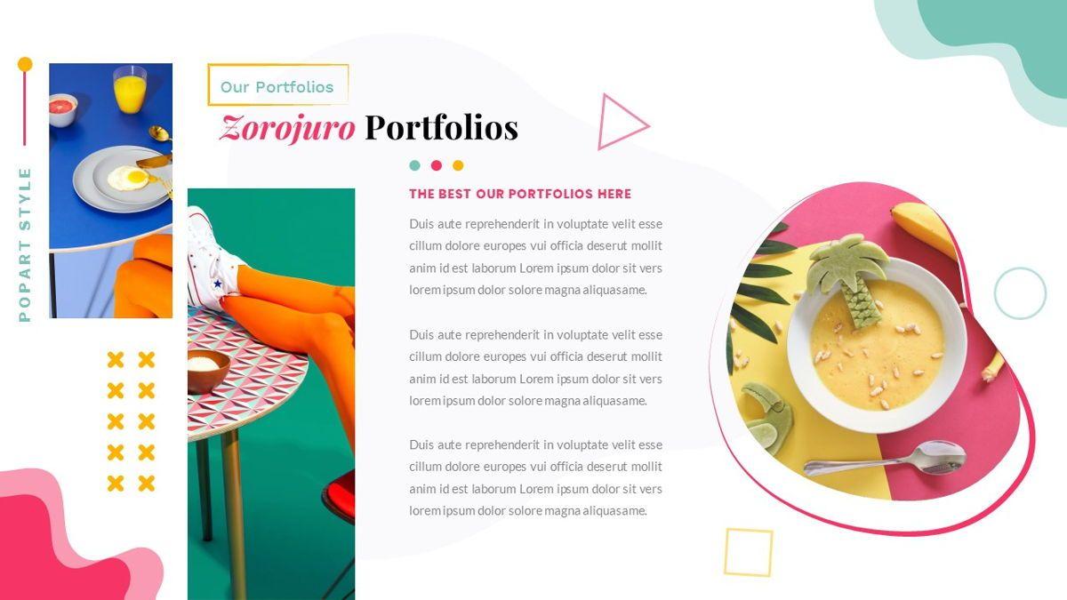 Zorojuro – Creative Business Pop Art Keynote Template, Slide 22, 06856, Presentation Templates — PoweredTemplate.com