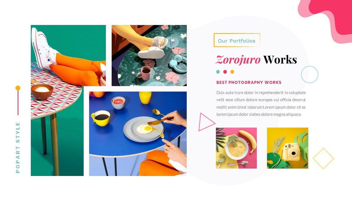 Zorojuro – Creative Business Pop Art Keynote Template, Slide 23, 06856, Presentation Templates — PoweredTemplate.com