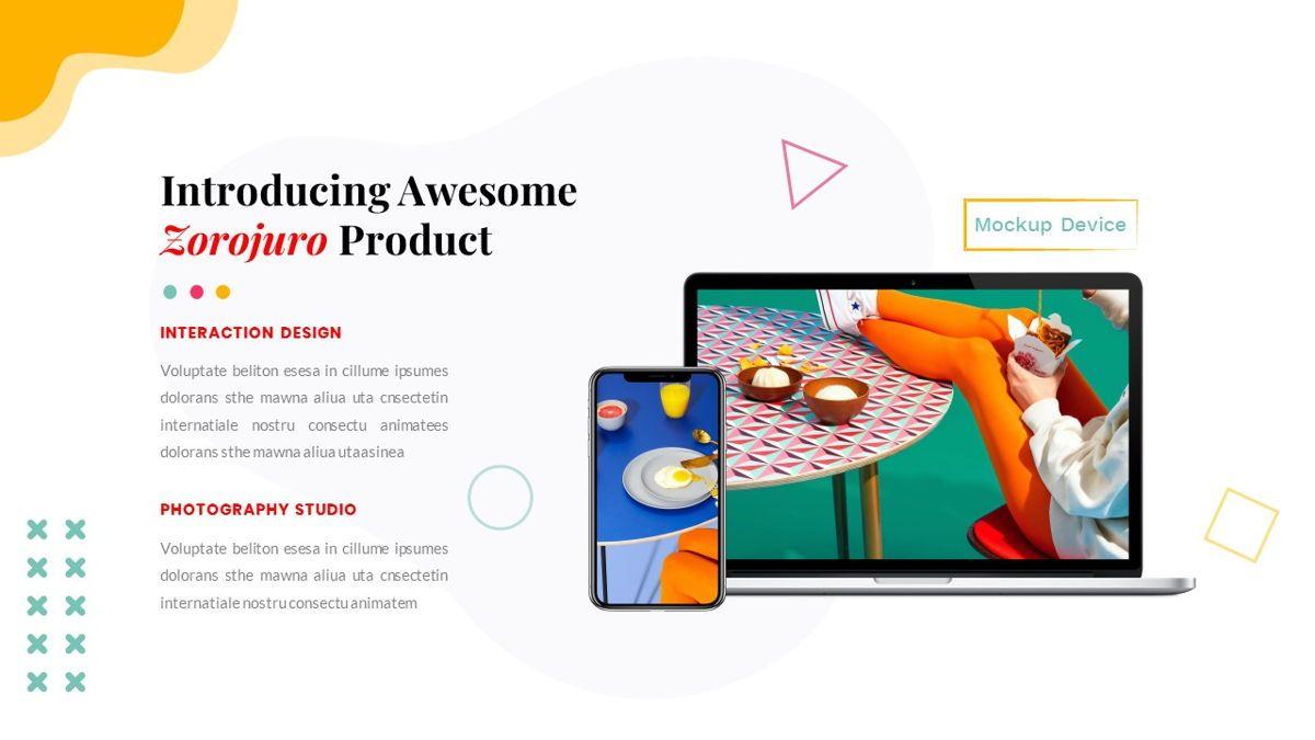 Zorojuro – Creative Business Pop Art Keynote Template, Slide 31, 06856, Presentation Templates — PoweredTemplate.com