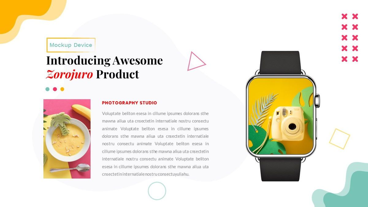 Zorojuro – Creative Business Pop Art Keynote Template, Slide 32, 06856, Presentation Templates — PoweredTemplate.com