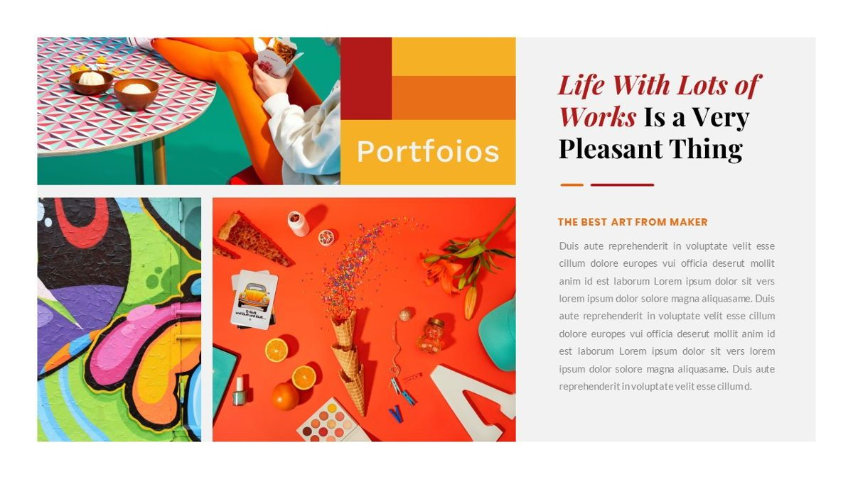 Tiwwie – Creative Business Pop Art Google Slides Template, Slide 24, 06857, Presentation Templates — PoweredTemplate.com
