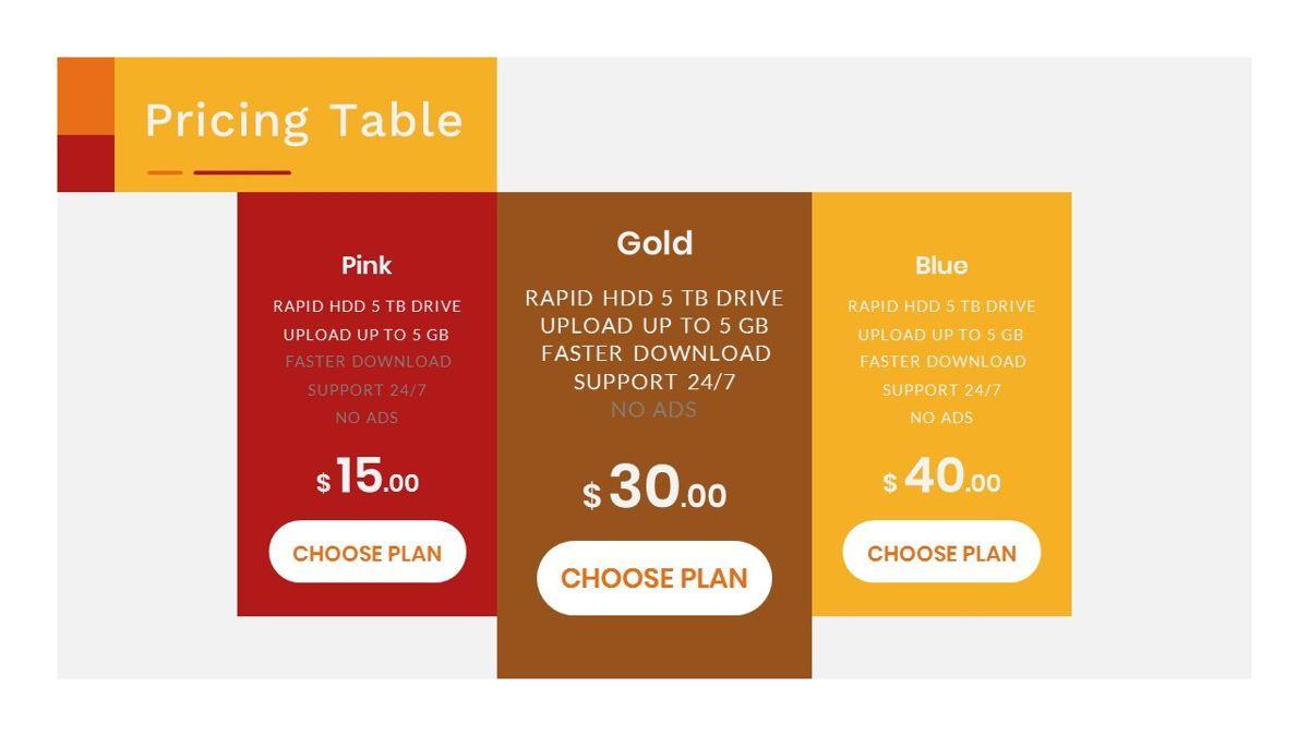 Tiwwie – Creative Business Pop Art Google Slides Template, Slide 38, 06857, Presentation Templates — PoweredTemplate.com