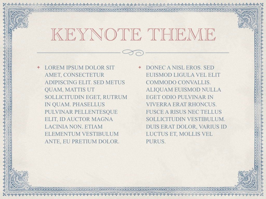 Bond Merchant Keynote Template, Slide 5, 06860, Education Charts and Diagrams — PoweredTemplate.com