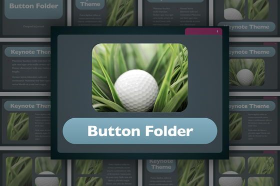 Presentation Templates: Button Folder Keynote Template #06861