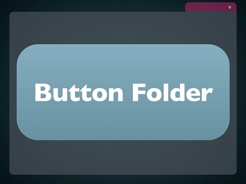 Button Folder Keynote Template, Slide 10, 06861, Presentation Templates — PoweredTemplate.com
