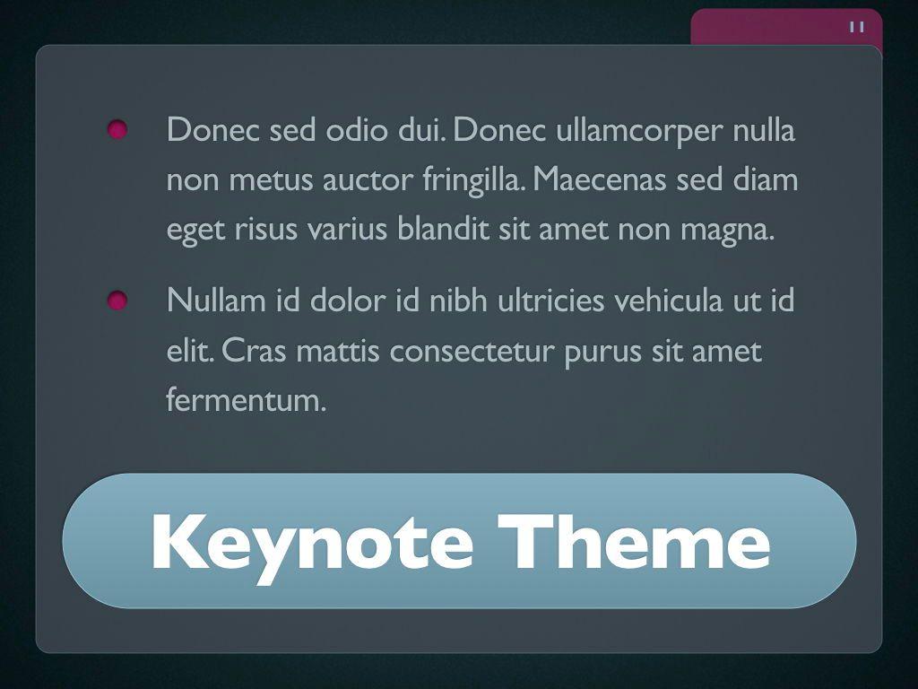 Button Folder Keynote Template, Slide 12, 06861, Presentation Templates — PoweredTemplate.com