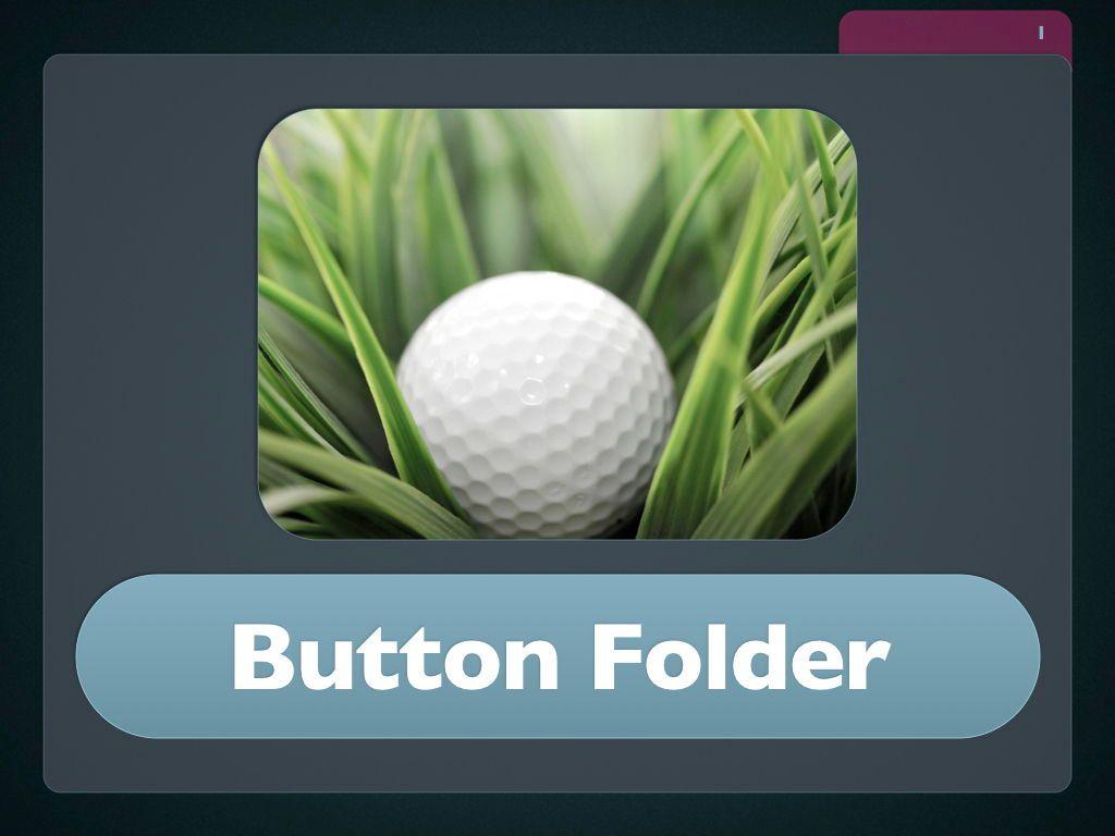 Button Folder Keynote Template, Slide 2, 06861, Presentation Templates — PoweredTemplate.com