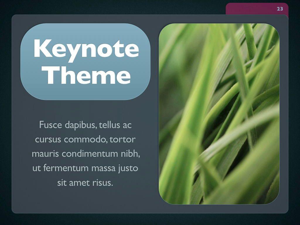 Button Folder Keynote Template, Slide 24, 06861, Presentation Templates — PoweredTemplate.com