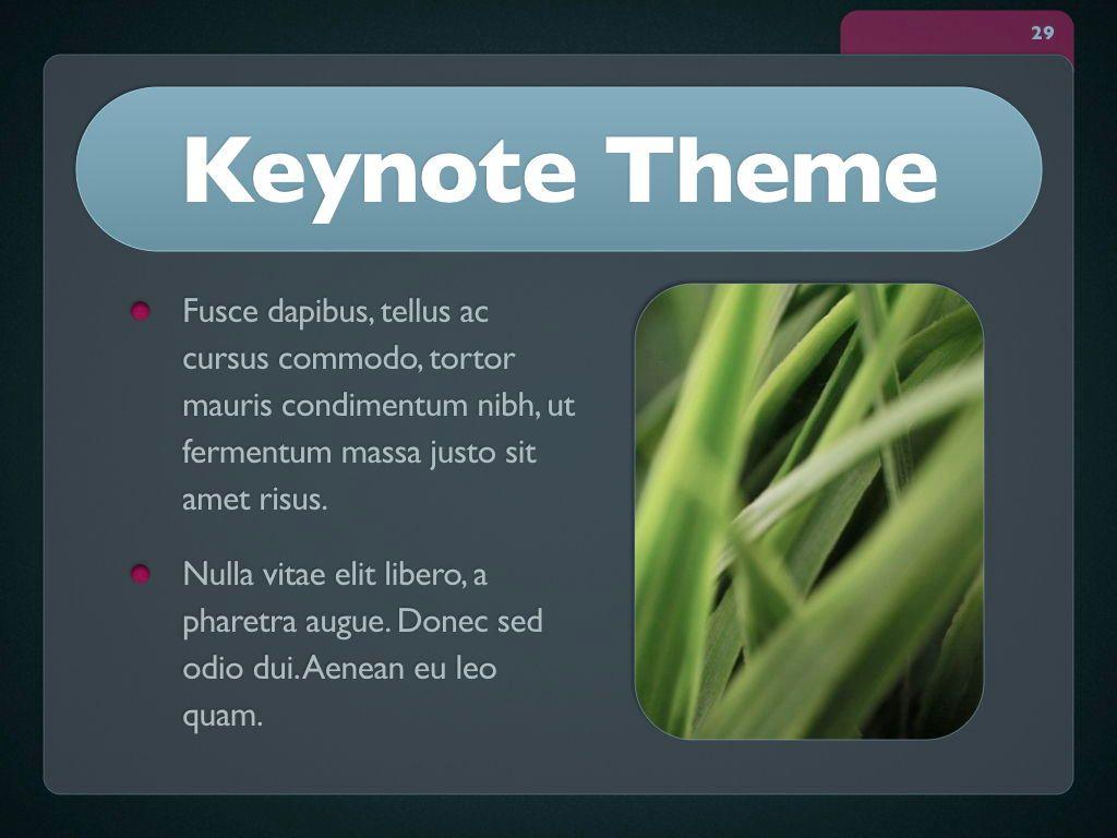 Button Folder Keynote Template, Slide 30, 06861, Presentation Templates — PoweredTemplate.com