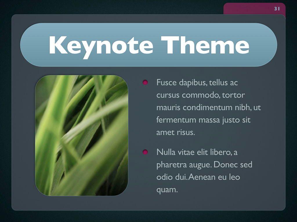 Button Folder Keynote Template, Slide 32, 06861, Presentation Templates — PoweredTemplate.com