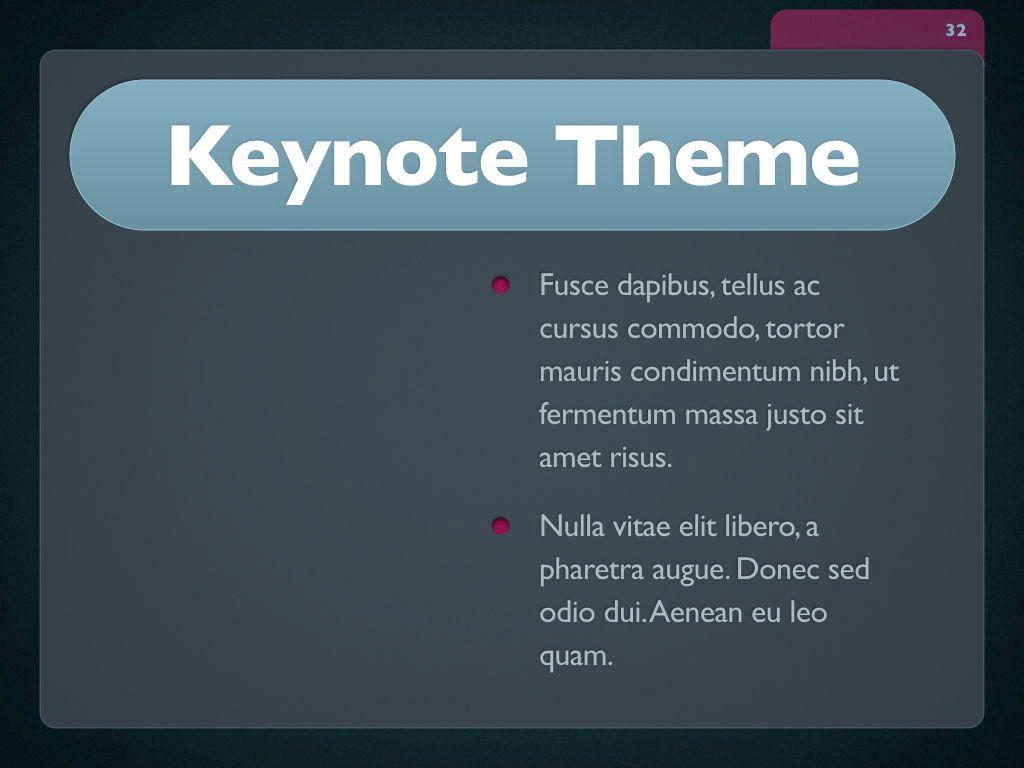 Button Folder Keynote Template, Slide 33, 06861, Presentation Templates — PoweredTemplate.com