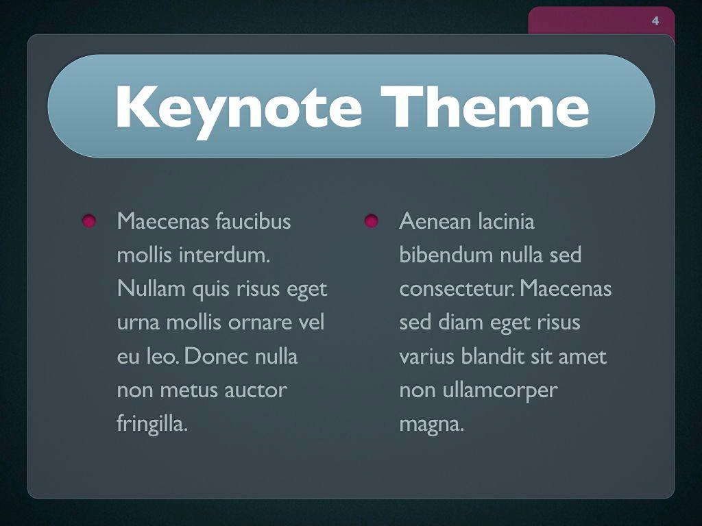 Button Folder Keynote Template, Slide 5, 06861, Presentation Templates — PoweredTemplate.com