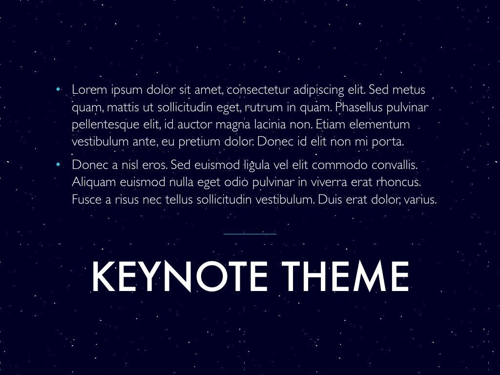 Interstellar Keynote Template, Slide 12, 06862, Presentation Templates — PoweredTemplate.com