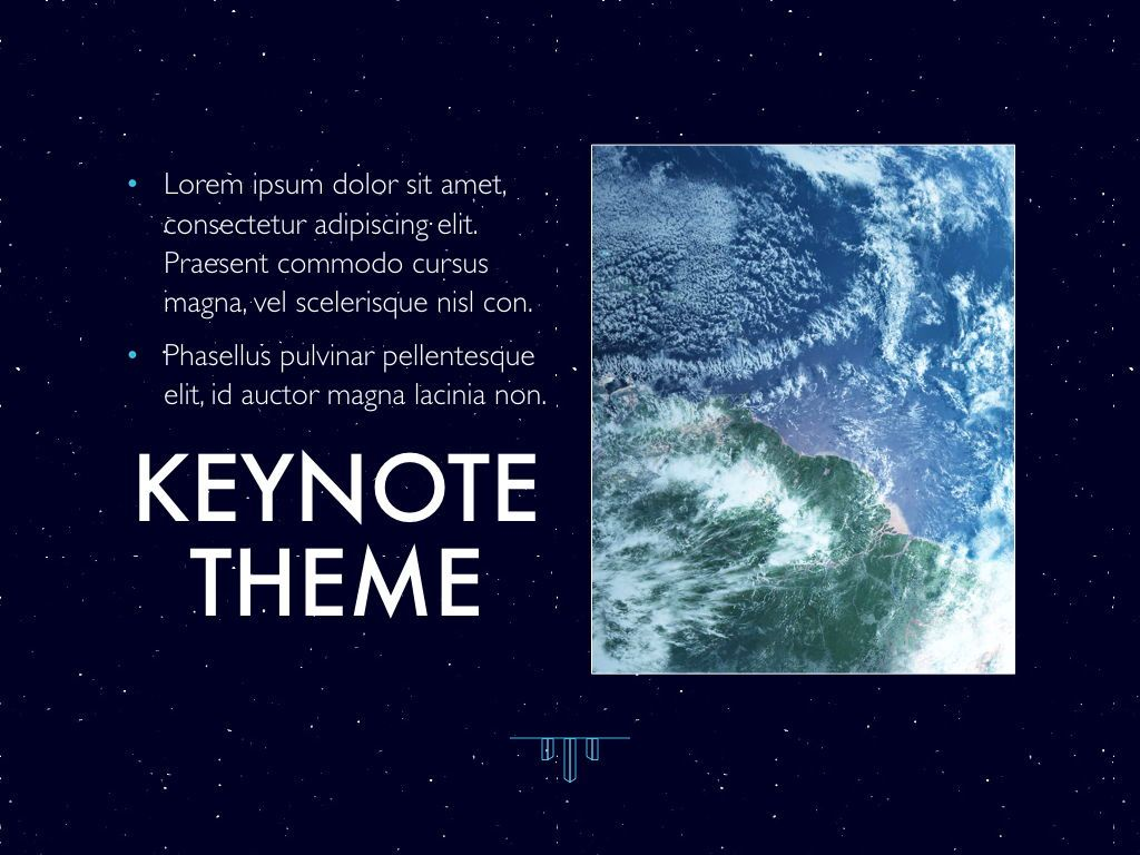 Interstellar Keynote Template, Slide 19, 06862, Presentation Templates — PoweredTemplate.com