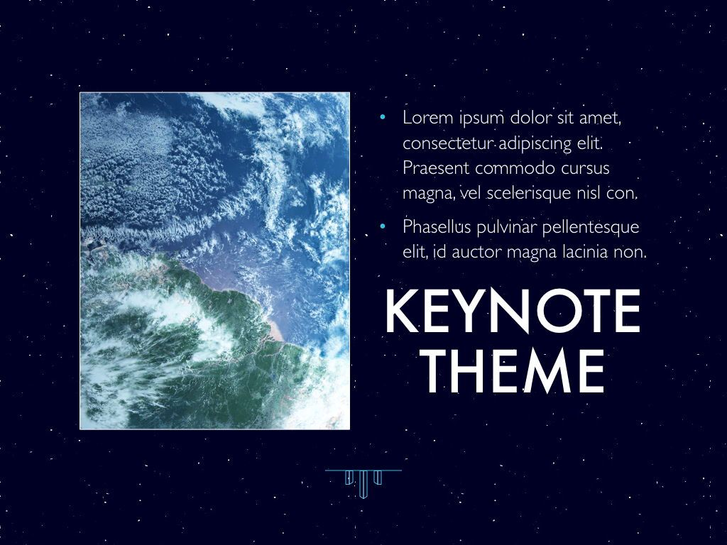 Interstellar Keynote Template, Slide 20, 06862, Presentation Templates — PoweredTemplate.com