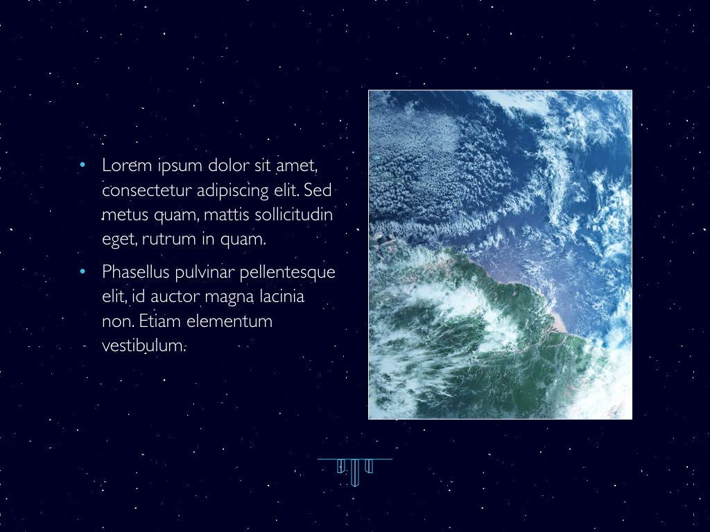 Interstellar Keynote Template, Slide 21, 06862, Presentation Templates — PoweredTemplate.com