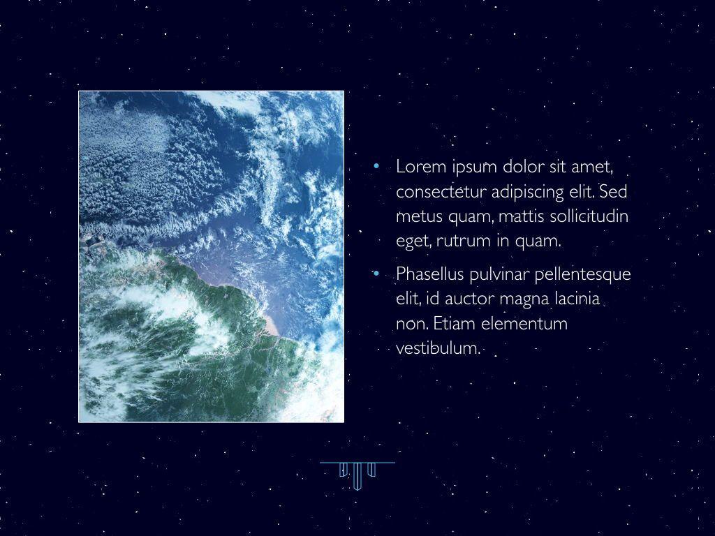 Interstellar Keynote Template, Slide 22, 06862, Presentation Templates — PoweredTemplate.com
