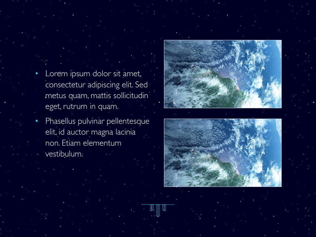 Interstellar Keynote Template, Slide 23, 06862, Presentation Templates — PoweredTemplate.com