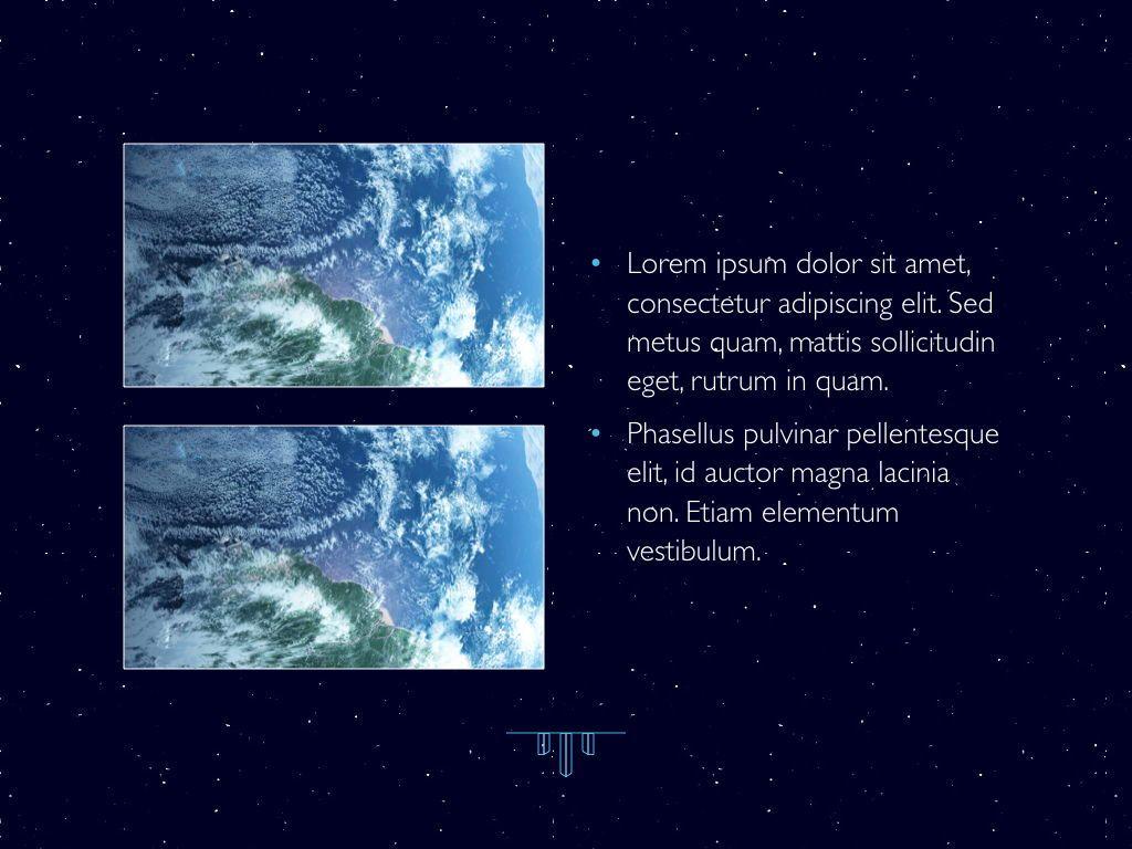 Interstellar Keynote Template, Slide 24, 06862, Presentation Templates — PoweredTemplate.com