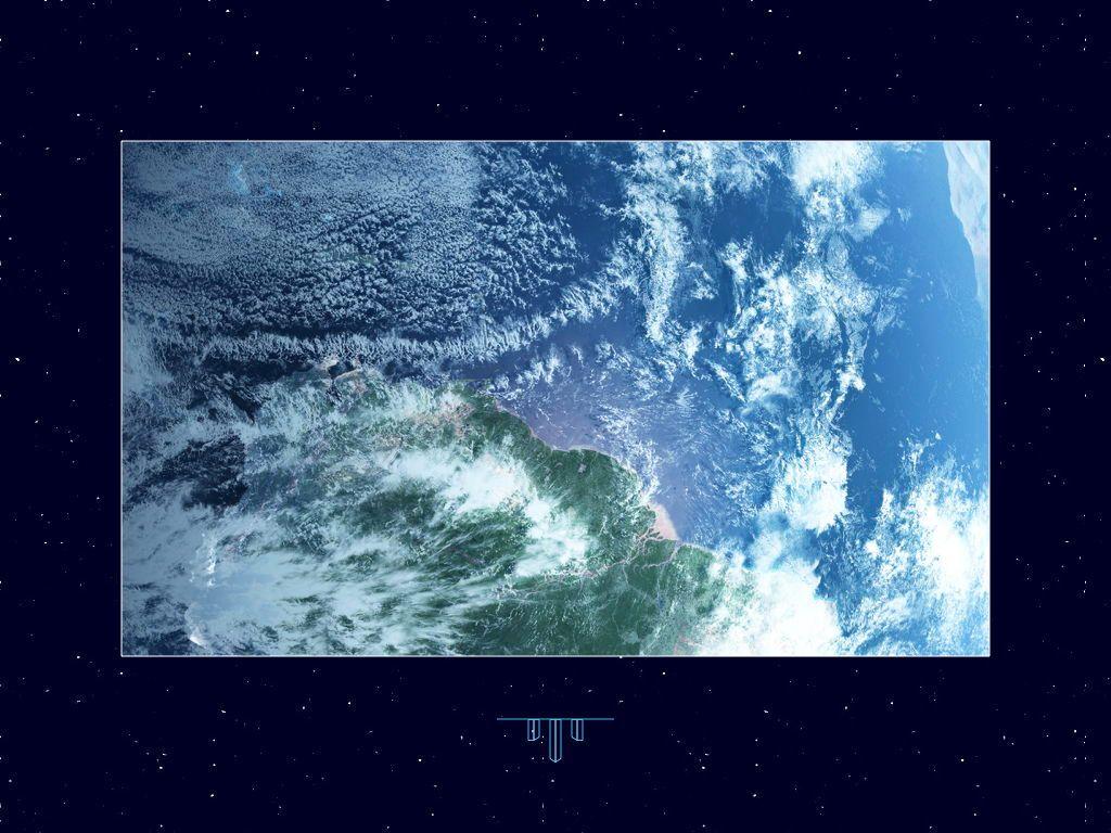 Interstellar Keynote Template, Slide 25, 06862, Presentation Templates — PoweredTemplate.com