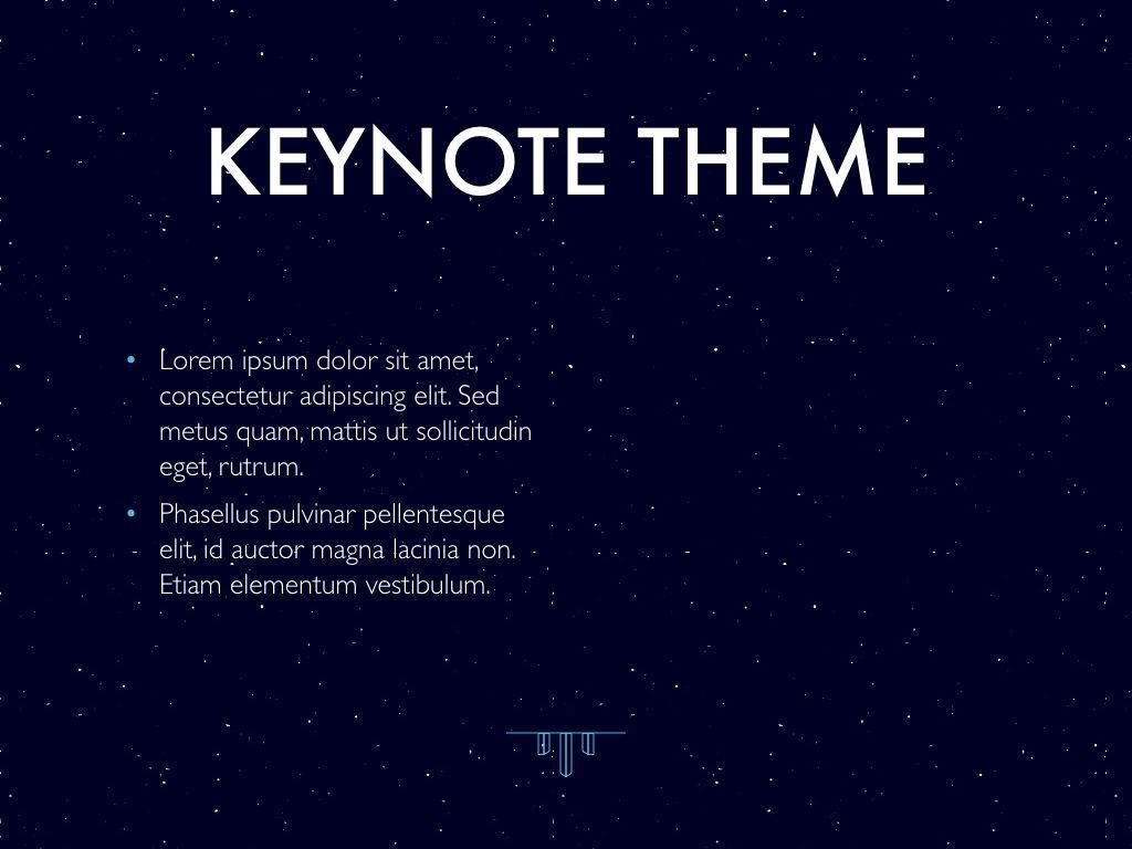 Interstellar Keynote Template, Slide 32, 06862, Presentation Templates — PoweredTemplate.com