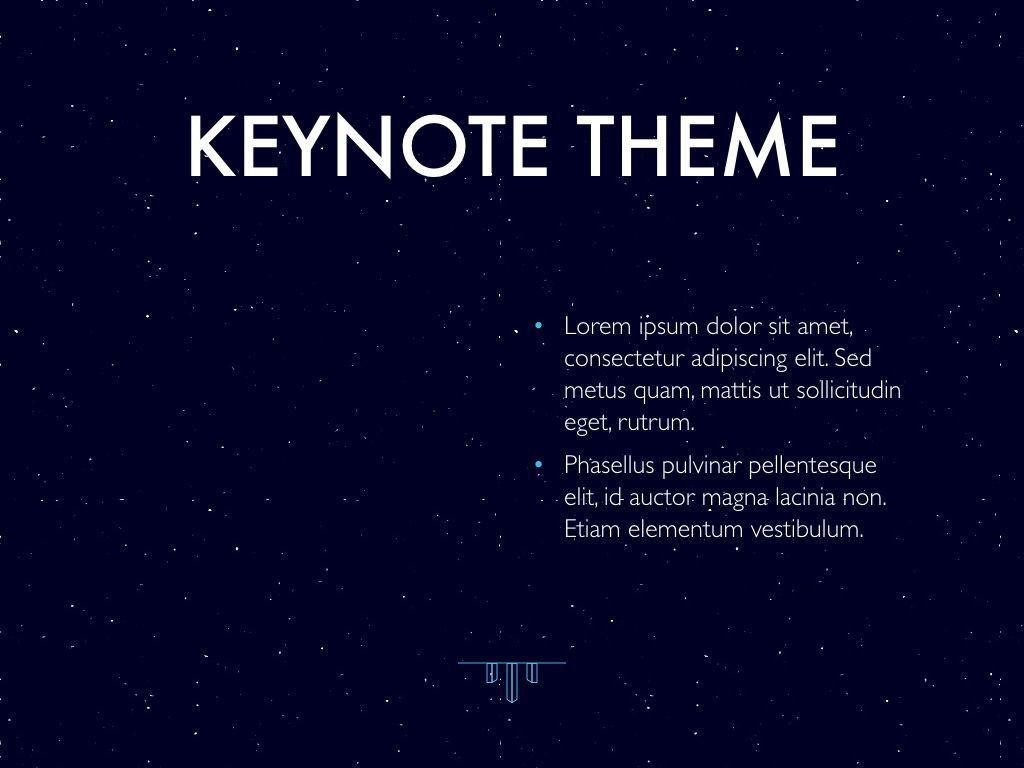 Interstellar Keynote Template, Slide 33, 06862, Presentation Templates — PoweredTemplate.com