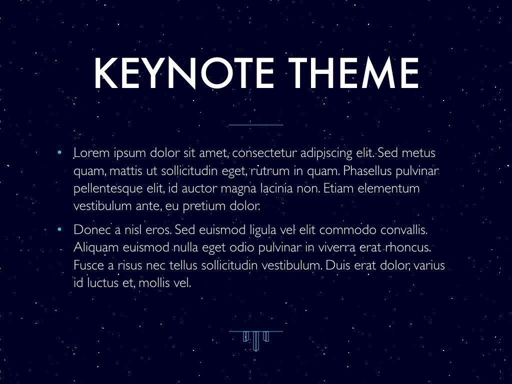Interstellar Keynote Template, Slide 4, 06862, Presentation Templates — PoweredTemplate.com