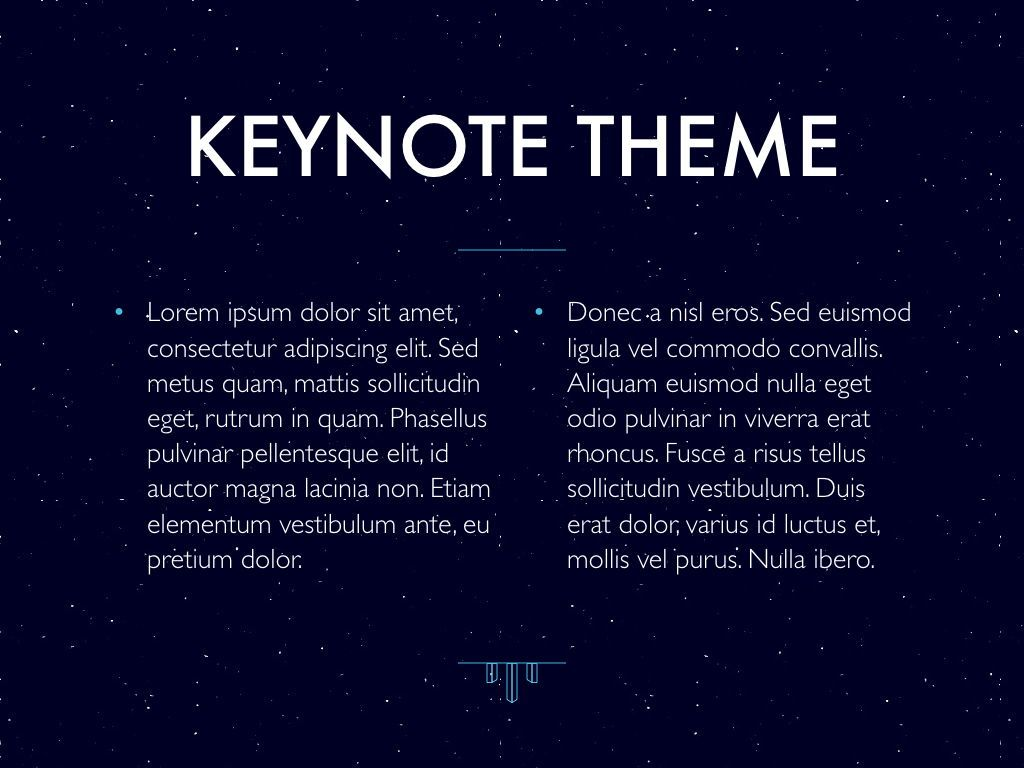 Interstellar Keynote Template, Slide 5, 06862, Presentation Templates — PoweredTemplate.com