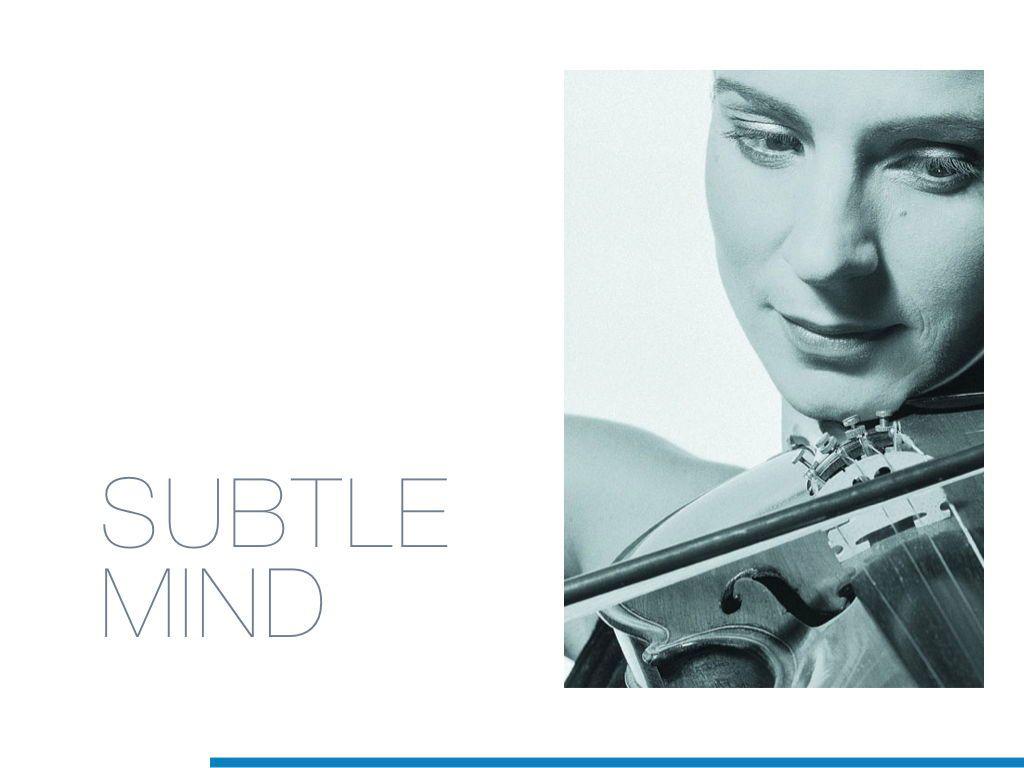 Subtle Mind Keynote Template, Slide 2, 06870, Presentation Templates — PoweredTemplate.com