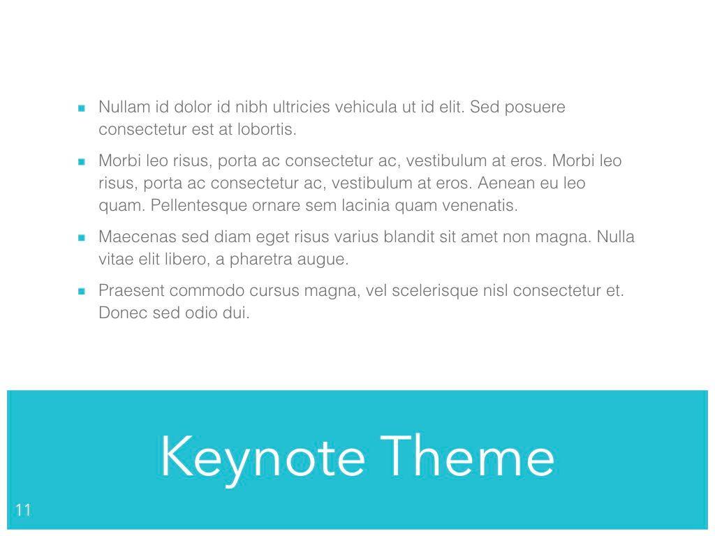 Ocean Safari Keynote Template, Slide 12, 06871, Presentation Templates — PoweredTemplate.com