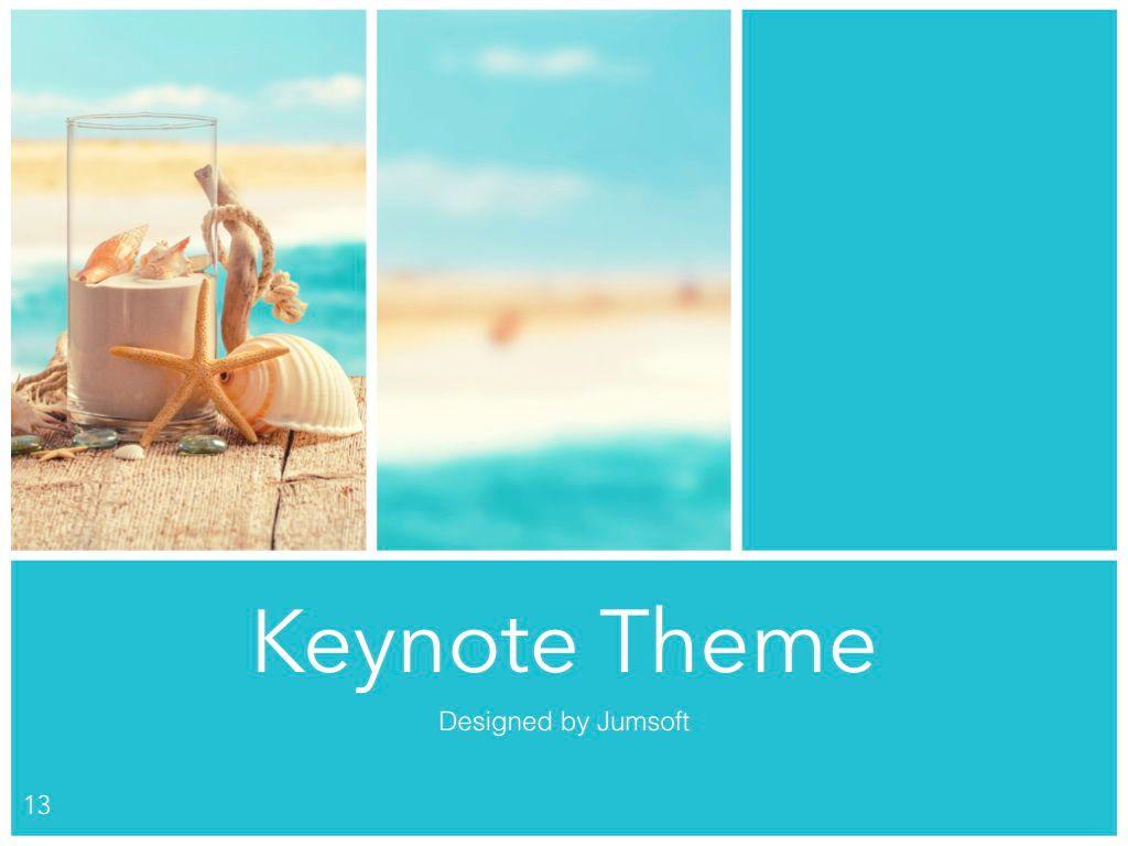 Ocean Safari Keynote Template, Slide 14, 06871, Presentation Templates — PoweredTemplate.com