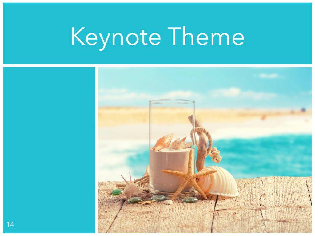 Ocean Safari Keynote Template, Slide 15, 06871, Presentation Templates — PoweredTemplate.com