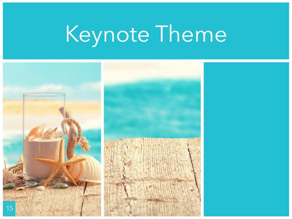 Ocean Safari Keynote Template, Slide 16, 06871, Presentation Templates — PoweredTemplate.com