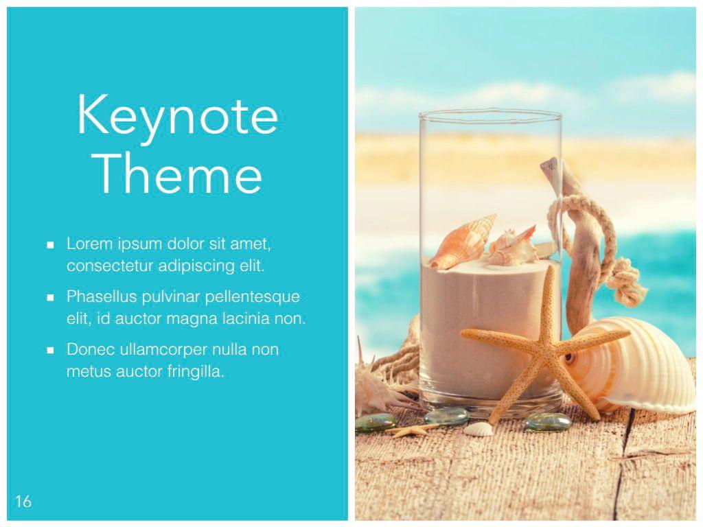 Ocean Safari Keynote Template, Slide 17, 06871, Presentation Templates — PoweredTemplate.com