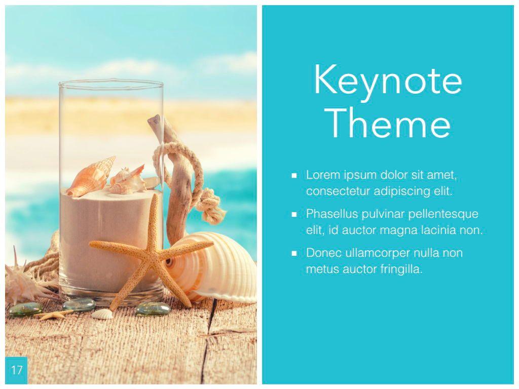 Ocean Safari Keynote Template, Slide 18, 06871, Presentation Templates — PoweredTemplate.com