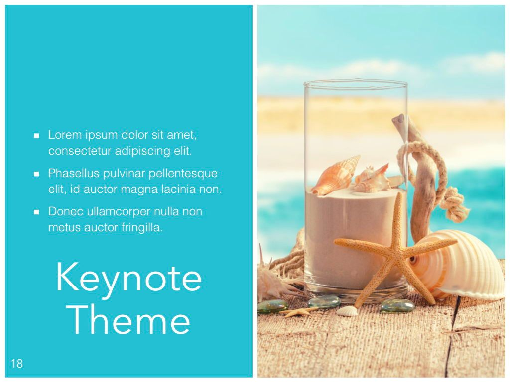 Ocean Safari Keynote Template, Slide 19, 06871, Presentation Templates — PoweredTemplate.com