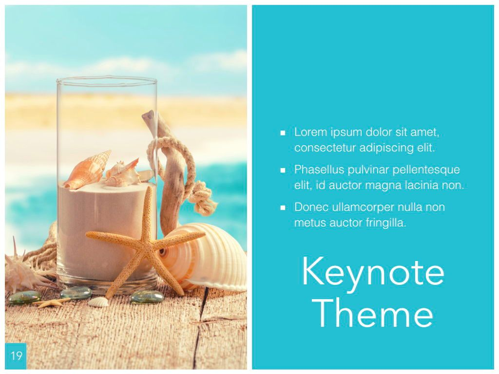 Ocean Safari Keynote Template, Slide 20, 06871, Presentation Templates — PoweredTemplate.com