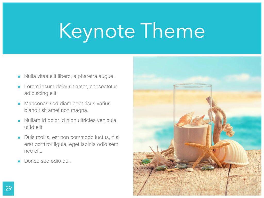 Ocean Safari Keynote Template, Slide 30, 06871, Presentation Templates — PoweredTemplate.com